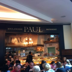 Photo taken at Paul Cafe by Rawan G. on 2/27/2013