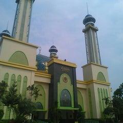 Photo taken at Masjid Agung AL-BARKAH Bekasi ® by Rachmat H. on 11/8/2015
