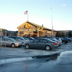 Photo taken at Bass Pro Shops by Angela G. on 3/23/2013