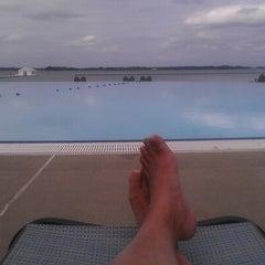 Photo taken at Pool @ Hyatt. by John W. on 9/17/2012