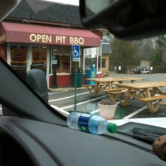 Photo taken at Smokey Joes Restaurant & Pit BBQ by Bonnie G. on 1/28/2013