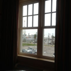 Photo taken at Harbor House Hotel & Marina at Pier 21 by Wes S. on 4/24/2013