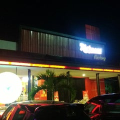 Photo taken at Richeese Factory by Johannes R. on 8/18/2013
