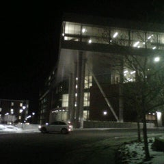 Photo taken at Spencer Fox Eccles Business Building by Dallas T. on 2/27/2013