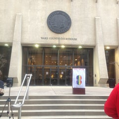 Photo taken at Wake County Courthouse by Mary F. on 3/26/2013