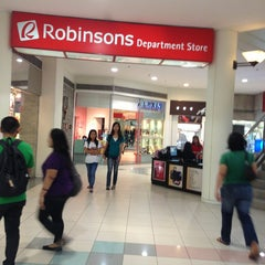 Photo taken at Robinsons Galleria by Red T. on 3/4/2013