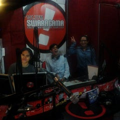 Photo taken at Swaragama 101.7 FM by Febby S. on 3/11/2013