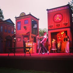Photo taken at Delacorte Theater by Bryan T. on 6/21/2013