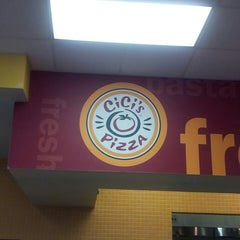 Photo taken at CiCi's Pizza by Mary B. on 3/5/2013