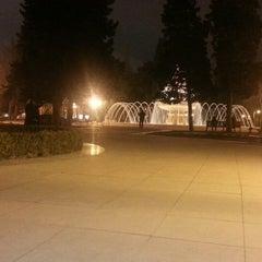 Photo taken at Hüseyn Cavid parkı by Анар С. on 2/27/2013