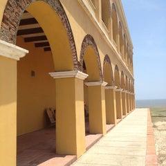 Photo taken at Castillo de Salgar by Leonardo R. on 5/12/2013