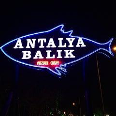 Photo taken at Antalya Balıkevi by MHT F. on 3/27/2013