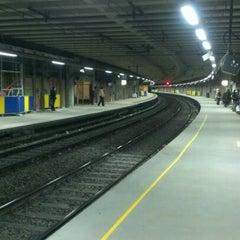 Photo taken at Gare de Bruxelles-Schuman / Station Brussel-Schuman by Joris K. on 11/13/2012