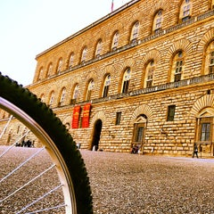 Photo taken at Palazzo Pitti by Benedetto C. on 4/13/2013