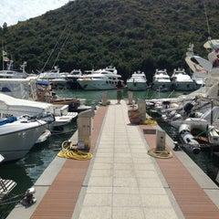 Photo taken at Marina Di Cala Galera by Ugo A. on 8/27/2013