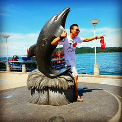 Photo taken at Hyatt Regency Kinabalu by aedy _. on 11/6/2012