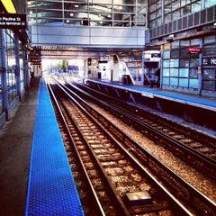 Photo taken at CTA - Howard by Virakri J. on 10/27/2012