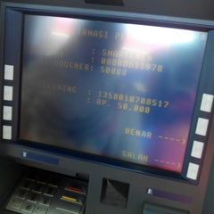 Photo taken at ATM Mandiri SPBU 4450120 by Tomy S. on 7/20/2014