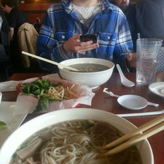 Photo taken at Pho vy by Matt R. on 2/11/2014