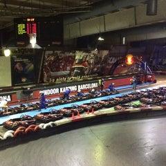 Photo taken at Indoor Karting Barcelona by Javier M. on 6/11/2015
