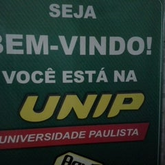 Photo taken at Universidade Paulista - UNIP by Cleinha B. on 5/9/2013
