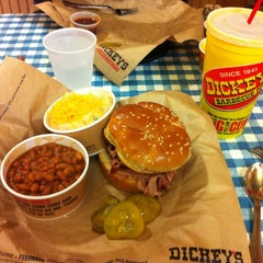 Photo taken at Dickey's Barbecue Pit by Peter G. on 12/22/2012