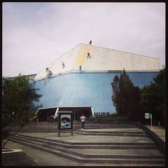 Photo taken at Biblioteca USBI by Charly R. on 8/21/2013