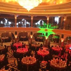 Photo taken at Burj Al Arab Al Falak Ballroom Top Floor by Esther H. on 7/7/2014