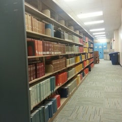 Photo taken at UTA Library by Jessica N. on 4/24/2013