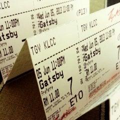 Photo taken at TGV Cinemas by Justin L. on 6/5/2013