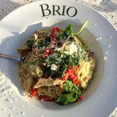 Photo taken at Brio Tuscan Grille by Johnny P. on 3/2/2013