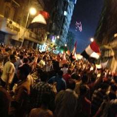 Photo taken at Tahrir Square   ميدان التحرير by DoDh I. on 7/3/2013