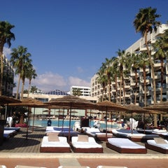 Photo taken at Le Méridien Eilat by Oleg K. on 2/17/2014