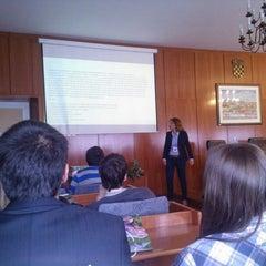 Photo taken at Ekonomski fakultet (EFZG) by Tina H. on 4/12/2013