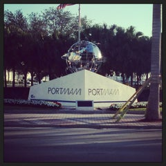 Photo taken at Port of Miami by Steffi S. on 1/28/2013