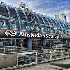 Photo taken at Station Amsterdam Sloterdijk by Yvonne K. on 3/22/2013