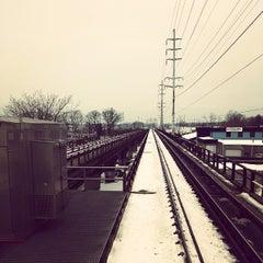 Photo taken at LIRR - Amityville Station by Ryan W. on 1/5/2014