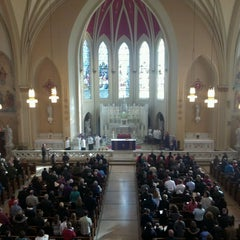 Photo taken at S.S. Peter And Paul Catholic Church by Matthew S. on 3/17/2013