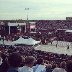 Photo taken at Warren McGuirk Alumni Stadium by Genevieve S. on 5/10/2013