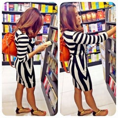 Photo taken at POPULAR Bookstore by Fieza_Ismail on 9/28/2013