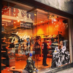 Photo taken at Stussy New York by Gianluca F. on 8/19/2013