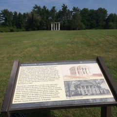 Photo taken at Princeton Battlefield State Park by E H. on 7/7/2014