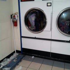 Photo taken at LaundroMart by Marie S. on 3/10/2013