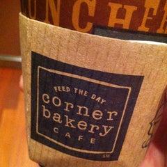 Photo taken at Corner Bakery Cafe by Sammy S. on 4/5/2013