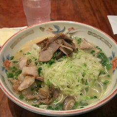 Photo taken at ラーメン専門 こむらさき 天文館本店 by lucky_yebessan on 6/30/2013
