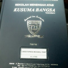 Photo taken at SMA Kusuma Bangsa by Suniartika B. on 12/21/2013
