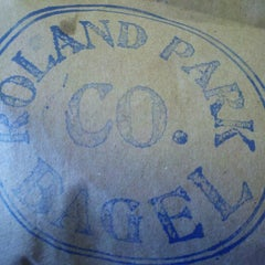 Photo taken at Roland Park Bagel Co. by R M. on 9/30/2012