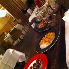 Photo taken at Restaurant Hôtel Les éleveurs by Michael W. on 2/28/2012