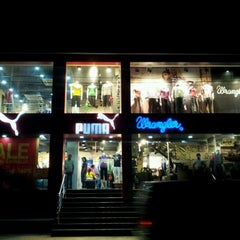 Photo taken at Puma Store by Sri Harsha M. on 10/5/2011