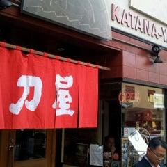 Photo taken at Katana-Ya by park j. on 1/10/2012